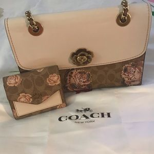 Coach Handbag and Wallet